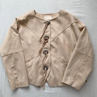SeaRoomlynn - シールームリン ECOスエードフリンジジャケット