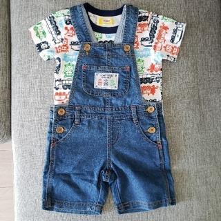 コストコ(コストコ)のコストコ トーマス カバーオール Tシャツ 90cm(Tシャツ/カットソー)