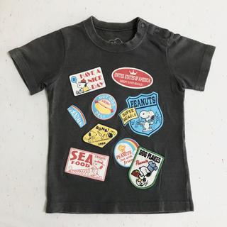 ファミリア(familiar)のぽちにゃん様専用:【familiar】SNOOPY Tシャツ(90㎝)(Tシャツ/カットソー)