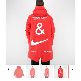UNDERCOVER - Nike Undercover 3レイヤーフィッシュテールパーカー