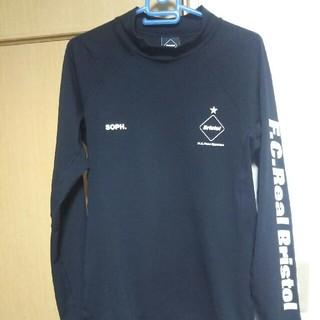 エフシーアールビー(F.C.R.B.)の18AW UNDER LAYER TOP ブラック Lサイズ 美品(Tシャツ/カットソー(七分/長袖))