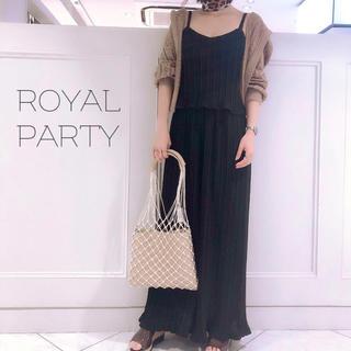 ロイヤルパーティー(ROYAL PARTY)のROYALPARTY♡プリーツ ザラ リゼクシー リエンダ エイミー Rady(オールインワン)