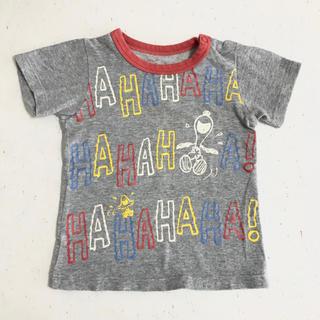 ファミリア(familiar)の【familiar】SNOOPY Tシャツ(90㎝)(Tシャツ/カットソー)