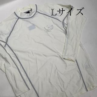 オンヨネ(ONYONE)のラッシュガード 長袖タイプ メンズ ホワイト スイミング プール ジム(水着)