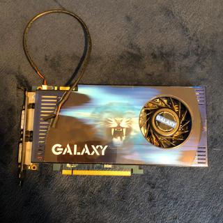 ギャラクシー(Galaxy)のGALAXY ビデオカード GF 9600GT PCI-E 512MB(PCパーツ)