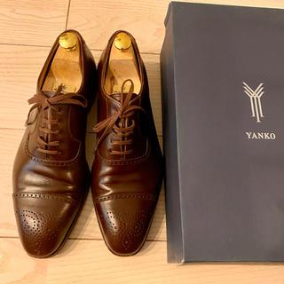 ヤンコ(YANKO)のヤンコ YANKO セミグローブ ビジネスシューズ 革靴(ドレス/ビジネス)