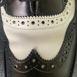 Trickers - TRICKER'S  m6974  白黒 ダブルレザーソール