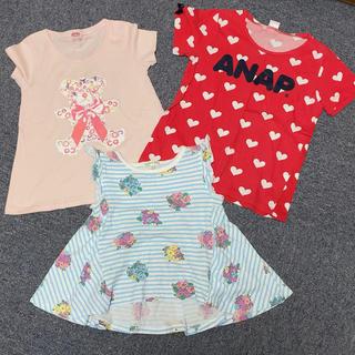 サンカンシオン(3can4on)の女の子 110センチ セット売り(Tシャツ/カットソー)