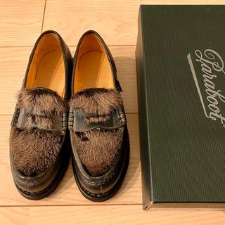パラブーツ(Paraboot)の定価8.8万 パラブーツ ORSAY/GRIFF オルセー ローファー ブラック(ローファー/革靴)