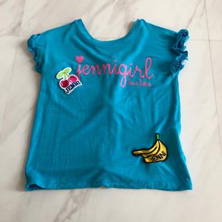 ジェニィ(JENNI)のjenni ブルーレーヨンTシャツ*120*(Tシャツ/カットソー)