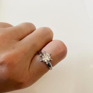 ジュエリーマキ(ジュエリーマキ)の★お買い得!★ジュエーリマキPt850大粒ダイヤモンド(1.25ct)リング(リング(指輪))
