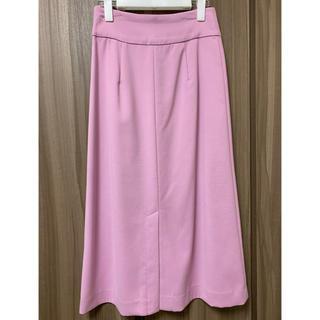 プラステ(PLST)のPLST  ピンクスカート(ロングスカート)