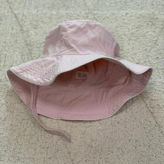 ギャップ(GAP)のGAP 帽子 4-5years あごひも付き 薄ピンク(帽子)