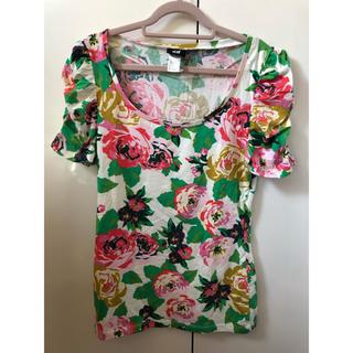 エイチアンドエイチ(H&H)の新品!H&MパフスリーブTシャツ(Tシャツ(半袖/袖なし))