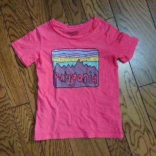 パタゴニア(patagonia)のpatagonia パタゴニア 4T キッズ Tシャツ(Tシャツ/カットソー)