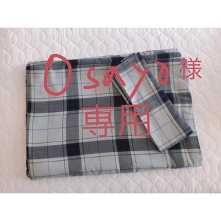 ムジルシリョウヒン(MUJI (無印良品))の無印良品 布団カバー&枕カバー シングル(布団)