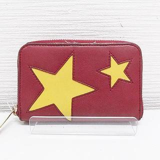 ステラマッカートニー(Stella McCartney)のステラマッカートニー レザー 財布 コインケース キーリング付 星 スター(コインケース)