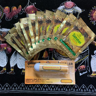 サマハンティ-10包とシッダレパスティックのセット(茶)