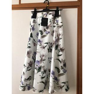 ジャスグリッティー(JUSGLITTY)のジャスグリッティー  水彩スカート(ひざ丈スカート)