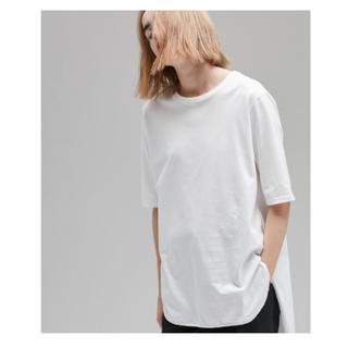エンフォルド(ENFOLD)のkk様専用 エイトン aton ラウンドヘムTシャツ(Tシャツ(半袖/袖なし))