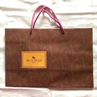 エトロ(ETRO)のETRO ショッピングバッグ(ショップ袋)