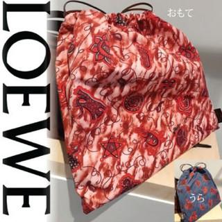 ロエベ(LOEWE)のLOEWE ロエベ パウラズイビザ 巾着袋 かごバッグ(その他)