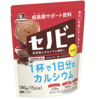 モリナガセイカ(森永製菓)の森永製菓 セノビー 1袋(180g)未開封(その他)