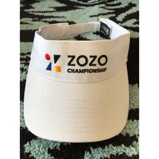 ZOZOチャンピオンシップ サンバイザー(その他)