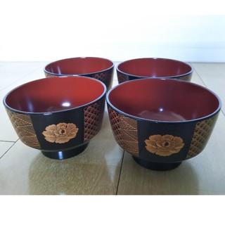 ヒロココシノ(HIROKO KOSHINO)のヒロココシノ 汁椀 4客(食器)