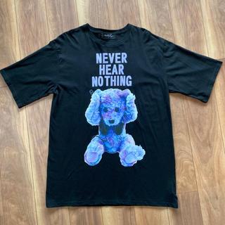 ミルクボーイ(MILKBOY)のミルクボーイ Tシャツ NEVER HEAR NOTHING ビッグT ブラック(Tシャツ(半袖/袖なし))