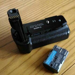 キヤノン(Canon)のCanon バッテリーグリップ バッテリー BG-E2 BP-511A バッグ付(デジタル一眼)