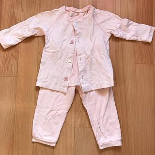 ムジルシリョウヒン(MUJI (無印良品))の無印良品 パジャマ 100 ピンク(パジャマ)