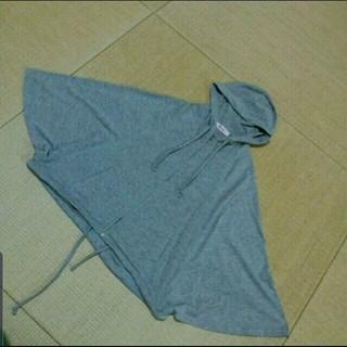 イングファースト(INGNI First)のINGNIFirstフード付きカットソー双子グレー(ジャケット/上着)