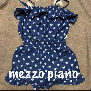メゾピアノ(mezzo piano)のメゾピアノのオールインワン(ワンピース)