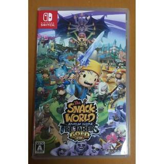 ニンテンドースイッチ(Nintendo Switch)の動作確認済 switch スナックワールド トレジャラーズ ゴールド(家庭用ゲームソフト)