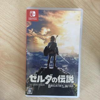 ニンテンドウ(任天堂)のゼルダの伝説 ブレスオブザワイルド 中古品(家庭用ゲームソフト)