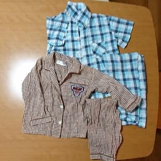 イオン(AEON)のパジャマ 半袖と長袖2セット 100㎝(パジャマ)