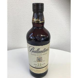 バランタインカシミヤ(BALLANTYNE CASHMERE)のバランタイン21年 700㎖ 新品未使用 未開封(ウイスキー)