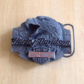 ハーレーダビッドソン(Harley Davidson)のハーレーダビットソン ベルトバックル USA製(ベルト)