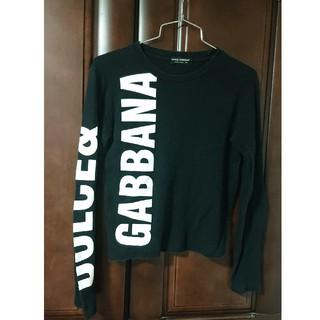 ドルチェアンドガッバーナ(DOLCE&GABBANA)のDOLCE&GABBANA  ロゴロンT  ブラックドルガバ (Tシャツ(長袖/七分))