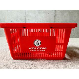 ボルコム(volcom)のレア 新品 レッド VOLCOM カゴ サーフィン 赤 ボルコム  キャンプ(その他)