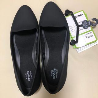 クロックス(crocs)の新品タグ付きクロックスW6(22センチ)❗️専用(バレエシューズ)