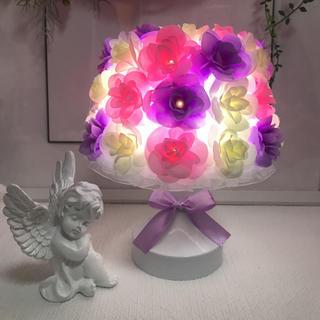 フラワーランプ お花 ライト 間接照明 テーブルランプ  ランプ ライト(その他)