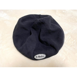 エックスガール(X-girl)のx-baby summer knit(ハンチング/ベレー帽)