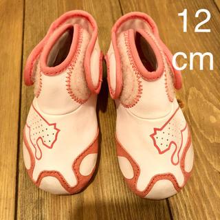 プーマ(PUMA)のベビーシューズ 12cm プーマ ファーストシューズ ピンク スニーカー(フラットシューズ)