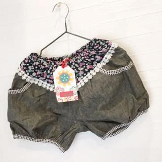 シシュノン(SiShuNon)のシシュノン   120 女の子 ショートパンツ 綿100 かわいい おしゃれ新品(パンツ/スパッツ)