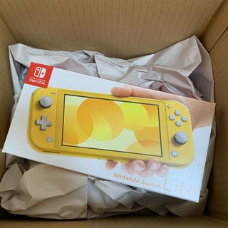 ニンテンドースイッチ(Nintendo Switch)の新品未開封 switch lite ニンテンドー スイッチ ライト イエロー(家庭用ゲーム機本体)