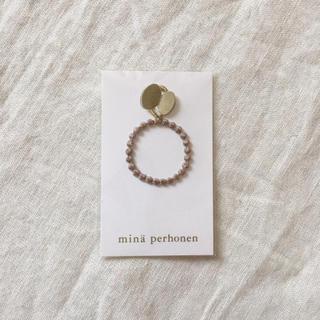 ミナペルホネン(mina perhonen)の新品◯mina perhonen タンバリン チャーム(チャーム)