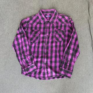 ジーユー(GU)のGU ブロックチェックシャツ(その他)