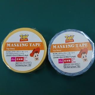 トイストーリー(トイ・ストーリー)のトイストーリー マスキングテープ マステ(テープ/マスキングテープ)